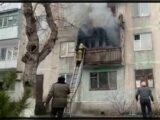 8 человек были эвакуированы из-за пожара в многоэтажке Шымкента