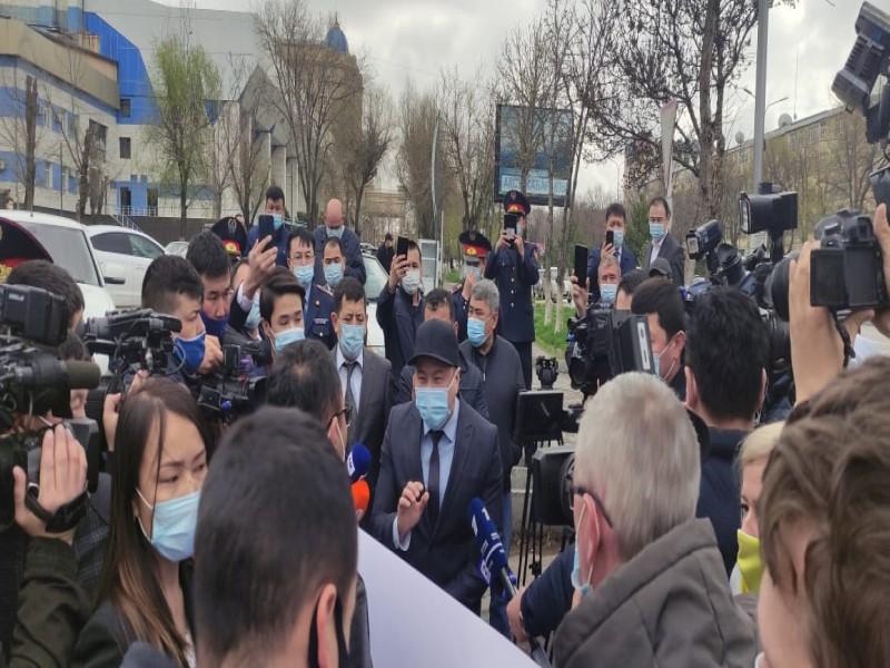 Журналисты Шымкента выступили против произвола полицейских