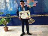 Студент из Шымкента победил в республиканском проекте «ТОП 100 студентов колледжей РК»