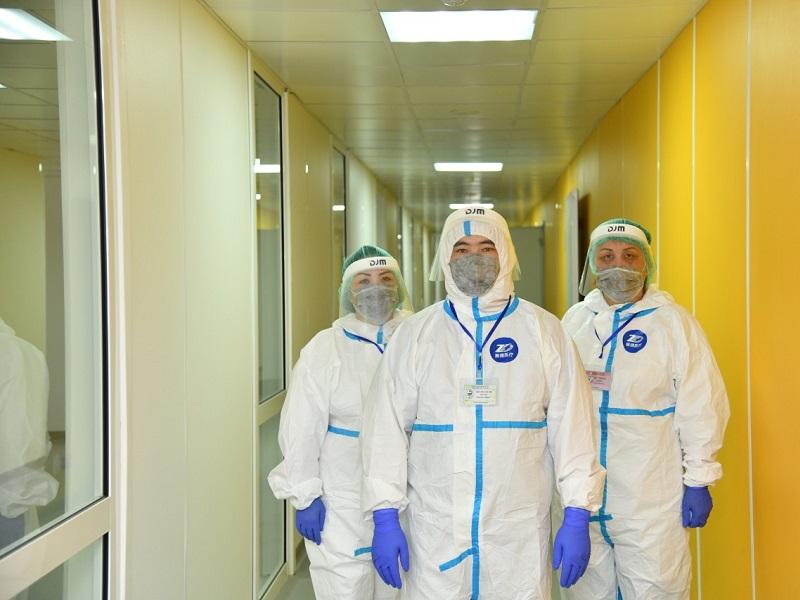 В Шымкенте растет количество больных коронавирусом