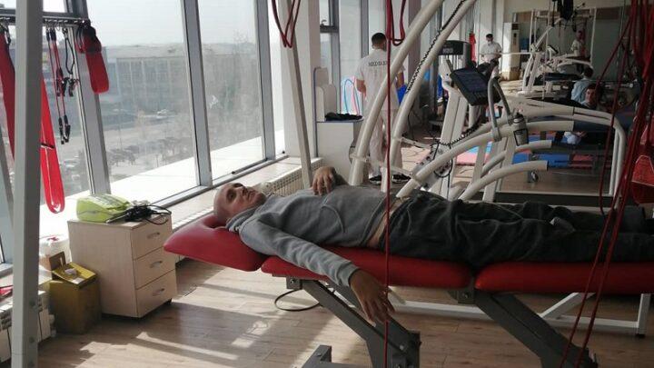 Подопечный проекта «Корзинка добра» Фаррух Рашитов прошел первый курс реабилитации