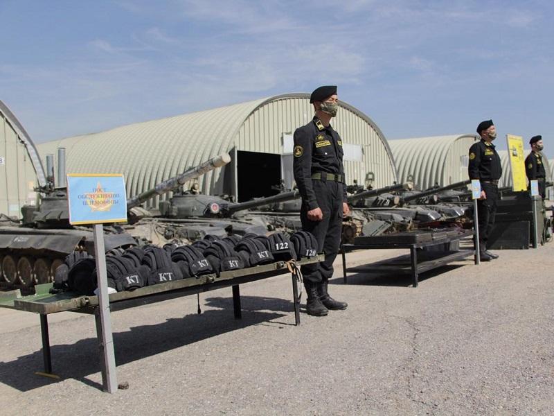 Масштабный техосмотр техники проведут в шымкентском гарнизоне