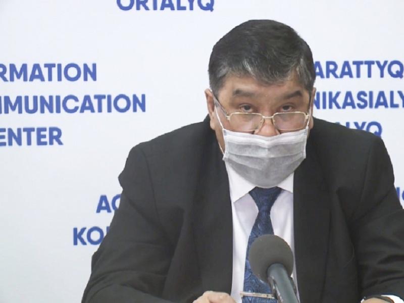 Санитарный врач города Шымкента внес изменения в постановлении от 19 апреля 2021 года