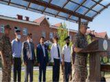 Механизированная бригада Шымкентского гарнизона отмечает 79 лет