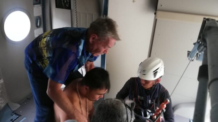 В Туркестанской области спасатели эвакуировали трех человек