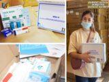 В Шымкенте нуждающиеся получают аптечки