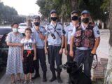 Пропавшую в Шымкенте 7- летнюю девочку вернули гвардейцы родителям