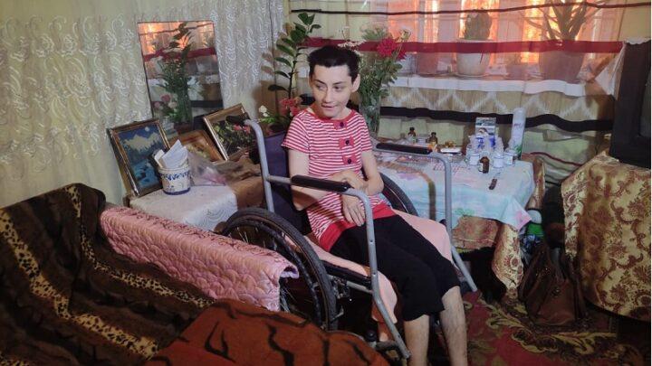 35 лет в муках и без реабилитации живет Мухабат Садыкова