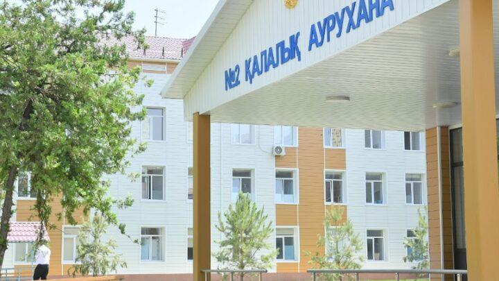 В Шымкенте «Фосфорная» больница принимает пациентов зараженных COVID-19 и пневмонией