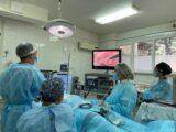 Впервые в Шымкенте провели онкооперацию через «окно»