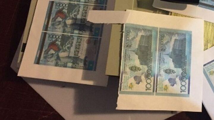 В Казахстане выявлено 336 поддельных денежных знаков на сумму более 1 млн тенге