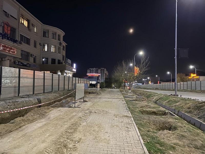 В Шымкенте проспект Д.Кунаева откроется в октябре