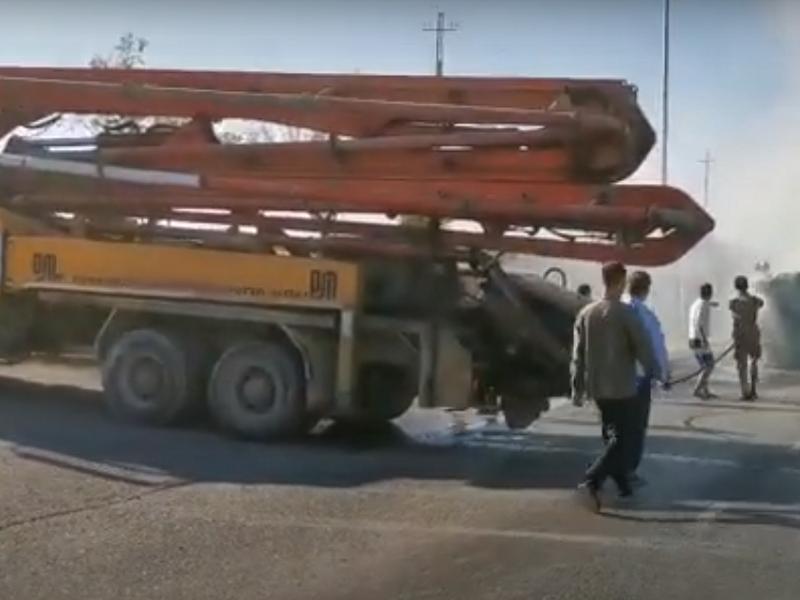 ЧП на дороге в Шымкенте помог предотвратить случайный водитель