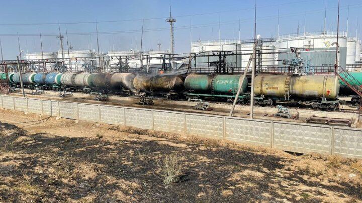 В Туркестанской области предотвратили взрыв цистерны с бензином 3,5 тонн