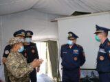 Ликвидировать разрушительное землетрясение в Алматы учатся шымкентские спасатели