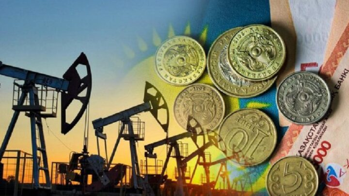 Тенге падает из-за снижения мировых цен на нефть