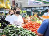 В Шымкенте уровень инфляции в августе по сравнению с июлем составил 100,4%