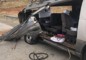 Три человека погибли в аварии Туркестанской области.