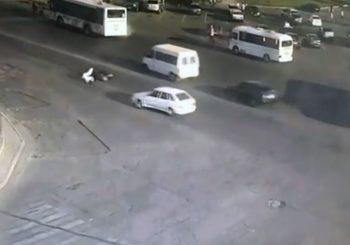 ДТП. Шымкент, площадь Ордабасы.