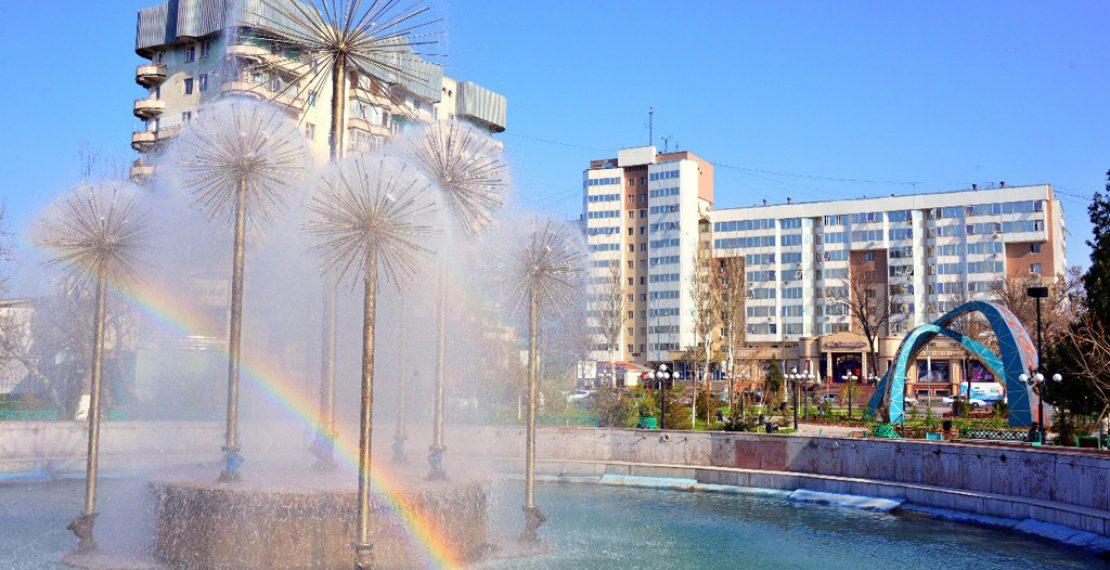 Рабочие расписание шымкентских фонтанов.