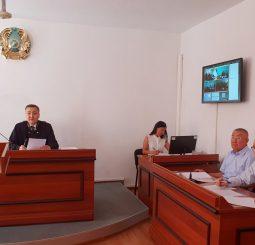 Экс-начальник миграционной полиции ДВД ЮКО попал на скамью подсудимых.