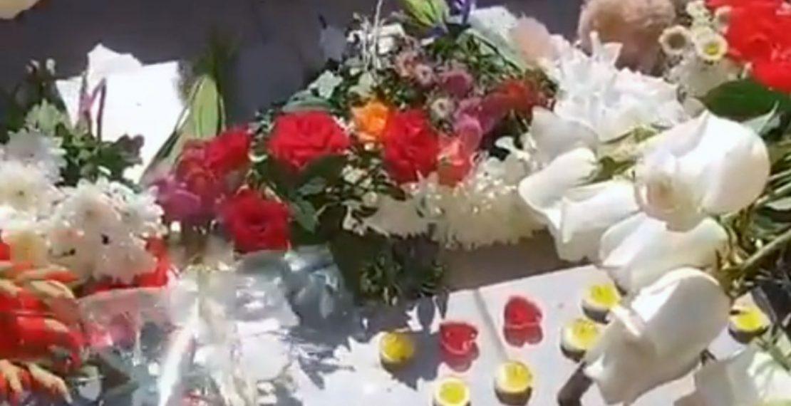 Шымкентцы прощаются с известным фигуристом Денисом Теном.